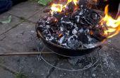 How to make van een smederij uit een BBQ