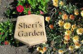 Gepersonaliseerde tuin Stepping Stones