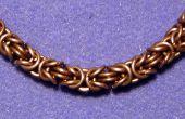 Byzantijnse Chainmail(le) snelheid-weven