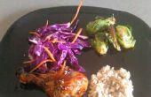 Aziatische kip & zijden