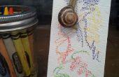 Slak kunst: Maken van kunst met slakken