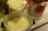 Hoe maak je perfecte kleefrijst met behulp van een rijstkoker