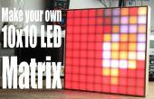 Maak uw eigen 10 x 10 LED Matrix
