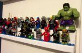 Lego Display rekken dubbel gelaagde