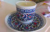 Thee Cup kaarsen