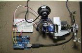 Gezicht detectie en tracking met Arduino en OpenCV