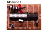 GOduino II = Arduino + L293D variabele snelheid Motor Controller
