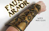 Reliëf Faux Armor met hete lijm