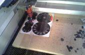 Afdrukken en vervolgens laser gesneden, een snelle tutorial