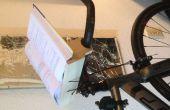 Stationaire fiets boek houder