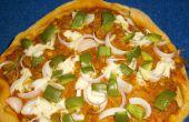 Volkoren Veggie kwark Pizza