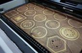 Laser gesneden multiplex Coasters