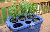 Fase 1 van hydrocultuur plantenbak: onderdelen