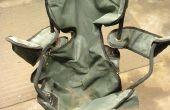 Hergebruik van een oude stoel opklapbaar