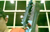 Een mes/wapen dat ik maakte scheuren sarated