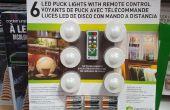 Puck lichte Conversion, geen meer eten batterijen