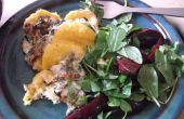 Polenta gnocchi met Super groene Florentijnse saus! (en het gluten vrij en vegetarisch ook!)