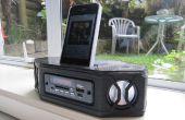 3D afgedrukt Portable Bluetooth Stereo Speaker
