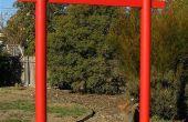 Bouwen van een Japanse Torii poort voor uw tuin