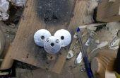 Metalen Deadmau5 embleem