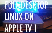Installeren van een Desktop-Linux (Debian-Linux) op Apple TV 1G