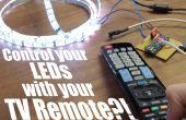 Controle van uw LEDs met de afstandsbediening van uw TV?! || IR Arduino tutorial Arduino Tutorial