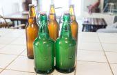 Zelfgemaakte gember bier met wilde gist