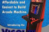 Een Super gemakkelijk Arcade Machine van 1 vel multiplex