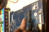 Testen van een SMD-Capasitor op Laptop moederbord