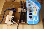 Robotic pianospeler