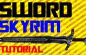 Hoe maak je een zwaard in het echte leven Skyrim