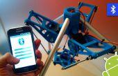 Android APP om te controleren van een Robot 3DPrinted