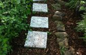 Hoe maak je Lace-achtige Stepping Stones