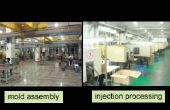 Proces van injectie schimmel ontwerp & maken