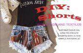 DIY Shorts met Studs en textiel