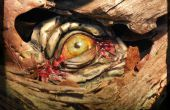 Realistische eetbare Eyeball