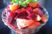 Salade van Beetorange