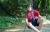 Hoe te beklimmen van een boom (met behulp van alleen touw!) de fun/eenvoudige manier