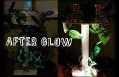 De Lamp van de Afterglow (papier mache en gerecycleerde materialen)