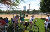 Elektrische fiets tot elektrische generator - eenvoudige DIY mobiele interactieve wetenschapsmuseum