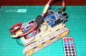 Robot IR afstandsbediening bijgehouden door Arduino