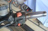 Het wijzigen van de motorfiets Grips