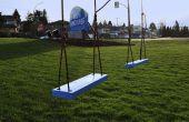 Een Swing instellen vanuit een Billboard (met behulp van schroot hout)