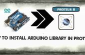 Arduino Library in Proteus
