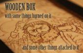 Wilde baard Taming Set - houten doos met sommige dings, en sommige dongs.