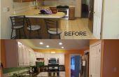 Keuken renovatie op een begroting