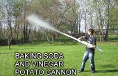 Baking Soda en azijn Cannon