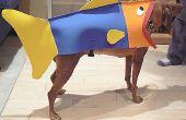 Hoe zet je hond in een vis voor Halloween