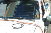 Zonne-auto batterij lader DIY