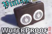 Vintage waterdichte Boom Box